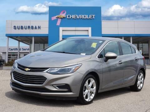 2017 Chevrolet Cruze for sale at Suburban Chevrolet of Ann Arbor in Ann Arbor MI