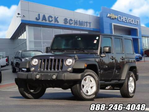2017 Jeep Wrangler Unlimited for sale at Jack Schmitt Chevrolet Wood River in Wood River IL