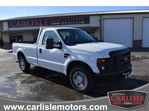 2009 Ford F-250 Super Duty for sale at Carlisle Motors in Lubbock TX