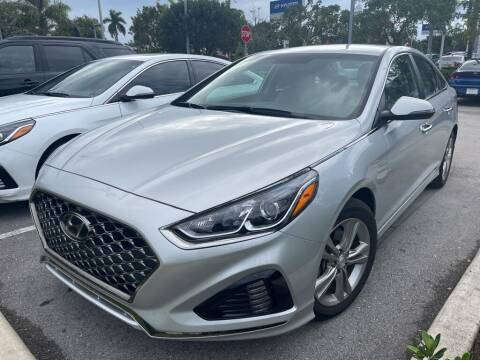 2019 Hyundai Sonata for sale at DORAL HYUNDAI in Doral FL
