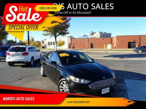 2017 Ford Fusion for sale at MARIO'S AUTO SALES in Mount Clemens MI