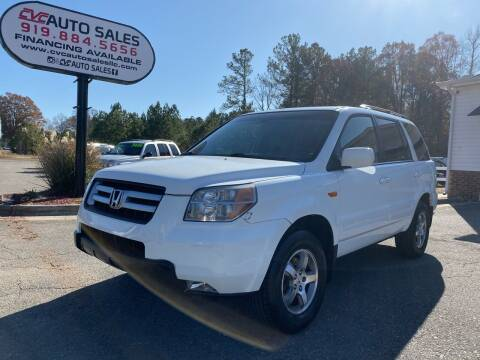 2007 Honda Pilot for sale at CVC AUTO SALES in Durham NC