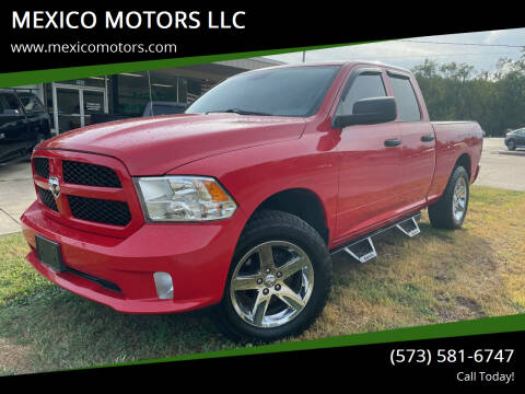 2013 RAM Ram Pickup 1500 for sale at MEXICO MOTORS LLC in Mexico MO