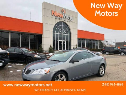 2007 Pontiac G6 for sale at New Way Motors in Ferndale MI