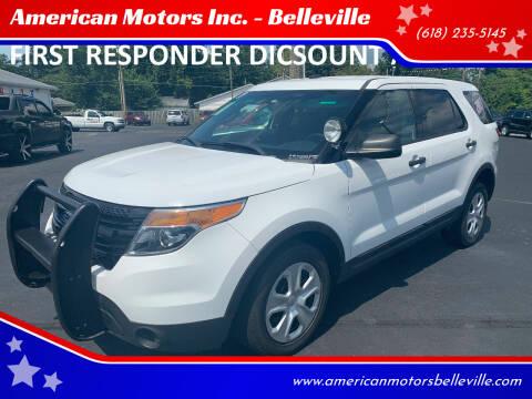 2013 Ford Explorer for sale at American Motors Inc. - Belleville in Belleville IL