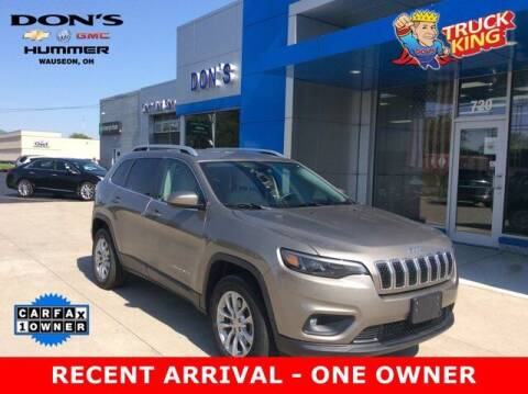 2019 Jeep Cherokee for sale at DON'S CHEVY, BUICK-GMC & CADILLAC in Wauseon OH