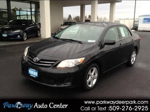 2013 Toyota Corolla for sale at PARKWAY AUTO CENTER AND RV in Deer Park WA