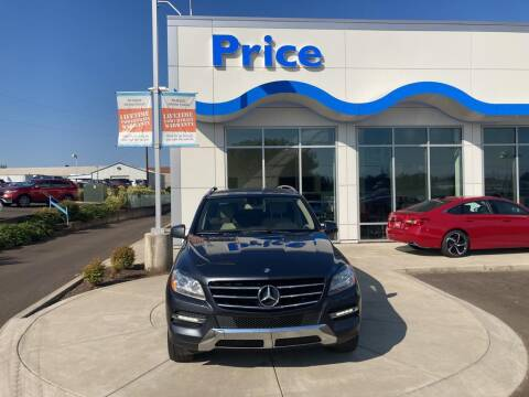 2012 Mercedes-Benz M-Class for sale at Price Honda in McMinnville in Mcminnville OR
