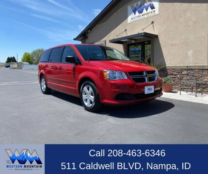 2013 Dodge Grand Caravan for sale at Western Mountain Bus & Auto Sales in Nampa ID