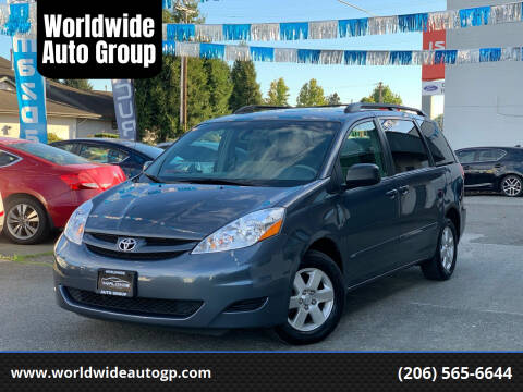 2010 Toyota Sienna for sale at Worldwide Auto Group in Auburn WA