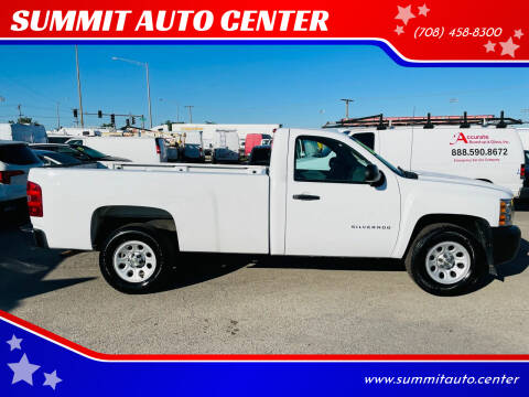 2013 Chevrolet Silverado 1500 for sale at SUMMIT AUTO CENTER in Summit IL