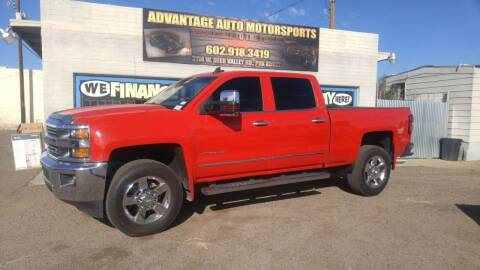 2015 Chevrolet Silverado 2500HD for sale at Advantage Motorsports Plus in Phoenix AZ