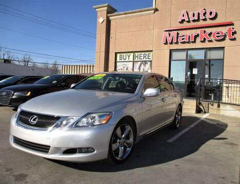 2008 Lexus GS 350 for sale at Auto Market in Oklahoma City OK