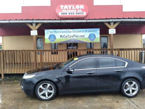 2009 Acura TL for sale at Taylor Trading Co in Beaumont TX