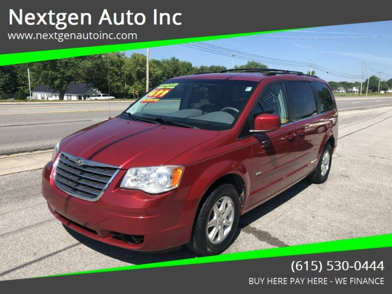 2008 Chrysler Town and Country for sale at Nextgen Auto Inc in Smithville TN