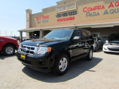 2009 Ford Escape for sale at Import Motors in Bethany OK