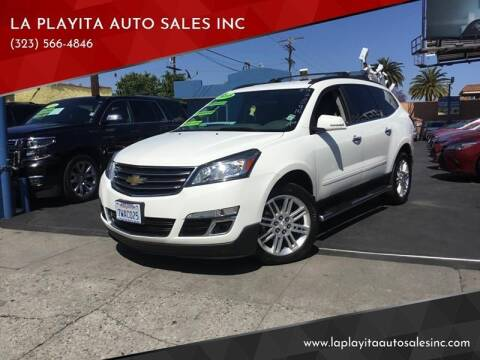 2015 Chevrolet Traverse for sale at LA PLAYITA AUTO SALES INC in South Gate CA