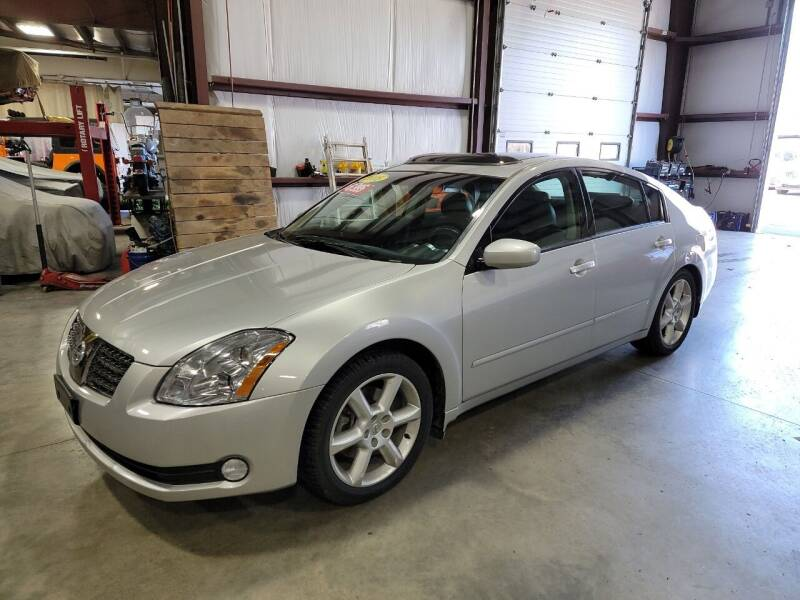 2006 Nissan Maxima for sale at Hometown Automotive Service & Sales in Holliston MA