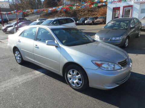 2004 Toyota Camry for sale at Ricciardi Auto Sales in Waterbury CT