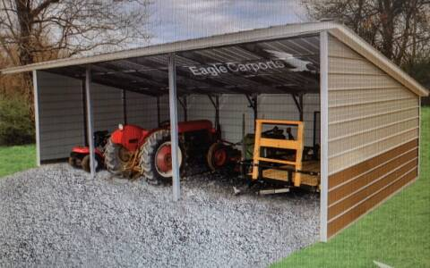 2020 Eagle Loafing Shed