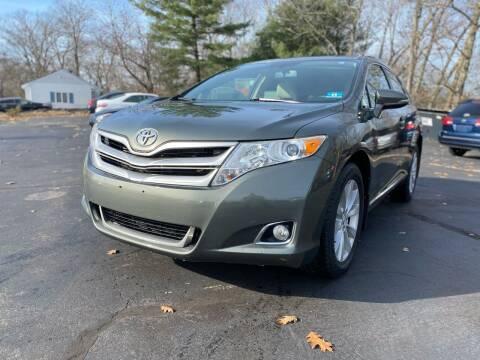 2013 Toyota Venza for sale at SOUTH SHORE AUTO GALLERY, INC. in Abington MA