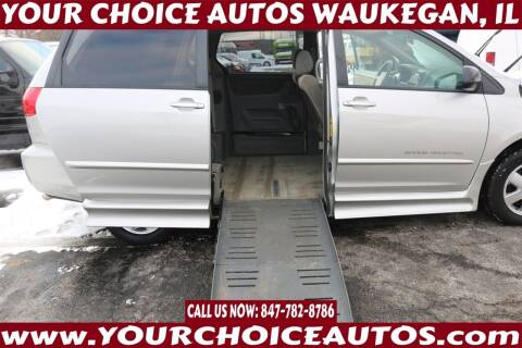 2008 Toyota Sienna for sale at Your Choice Autos - Waukegan in Waukegan IL