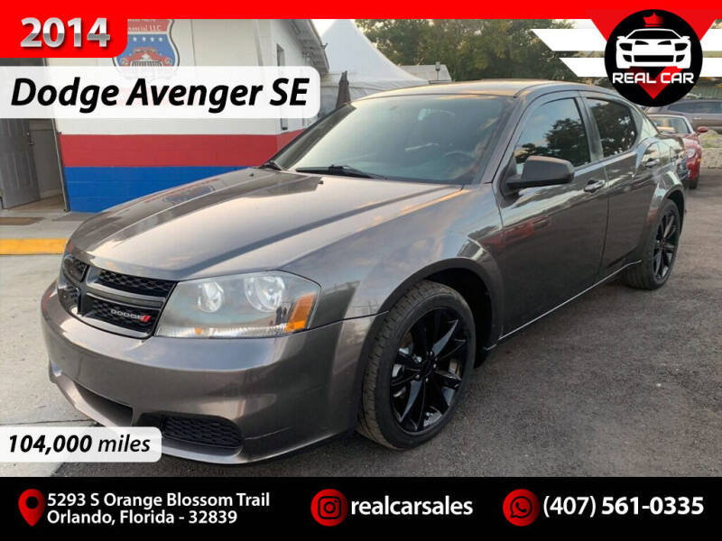 2014 Dodge Avenger for sale at Real Car Sales in Orlando FL