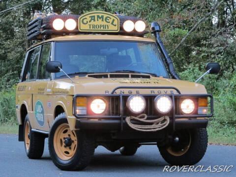 1975 Land Rover Range Rover for sale at Isuzu Classic in Cream Ridge NJ