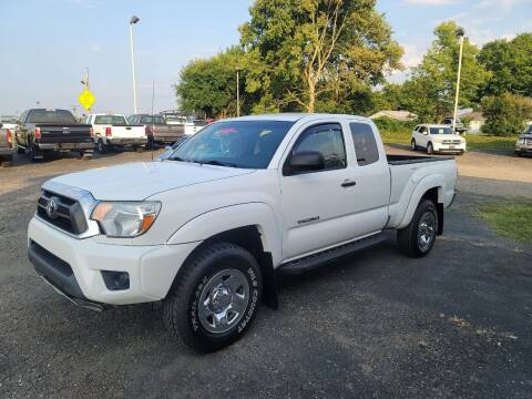 2012 Toyota Tacoma for sale at Rick's R & R Wholesale, LLC in Lancaster OH