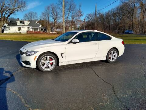 2015 BMW 4 Series for sale at Depue Auto Sales Inc in Paw Paw MI