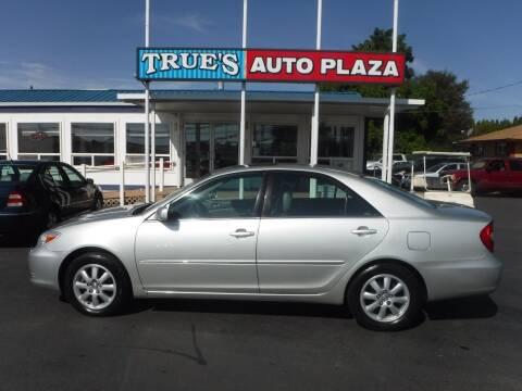2002 Toyota Camry for sale at True's Auto Plaza in Union Gap WA