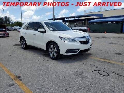 2016 Acura MDX for sale at Auto Finance of Raleigh in Raleigh NC