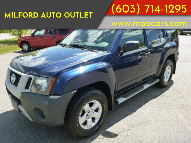 2010 Nissan Xterra for sale at Milford Auto Outlet in Milford NH