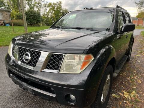 2007 Nissan Pathfinder for sale at Dreams Auto Sales LLC in Leesburg VA