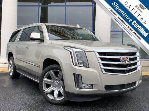 2016 Cadillac Escalade ESV for sale at Southern Auto Solutions - Capital Cadillac in Marietta GA