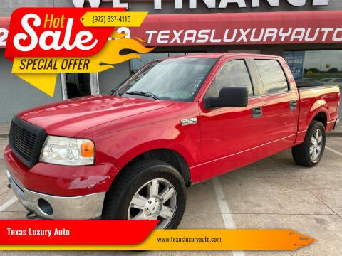 2008 Ford F-150 for sale at Texas Luxury Auto in Cedar Hill TX