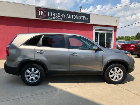2011 Kia Sorento for sale at Hirschy Automotive in Fort Wayne IN