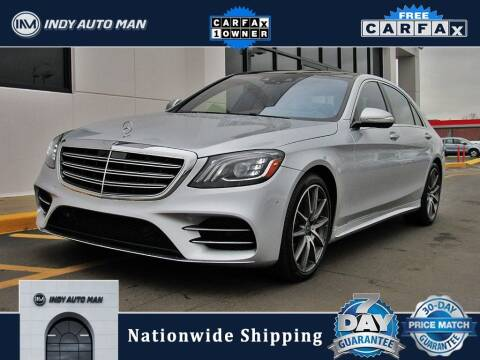 2018 Mercedes-Benz S-Class for sale at INDY AUTO MAN in Indianapolis IN