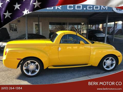 2005 Chevrolet SSR for sale at Berk Motor Co in Whitehall PA