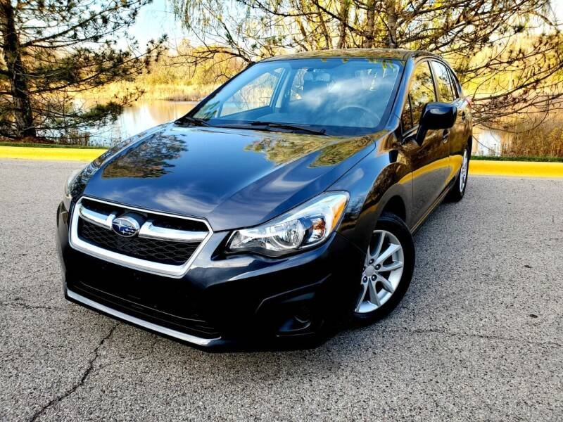 2014 Subaru Impreza for sale at Excalibur Auto Sales in Palatine IL