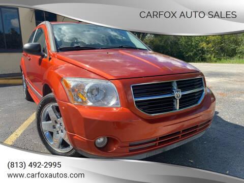 2007 Dodge Caliber for sale at Carfox Auto Sales in Tampa FL