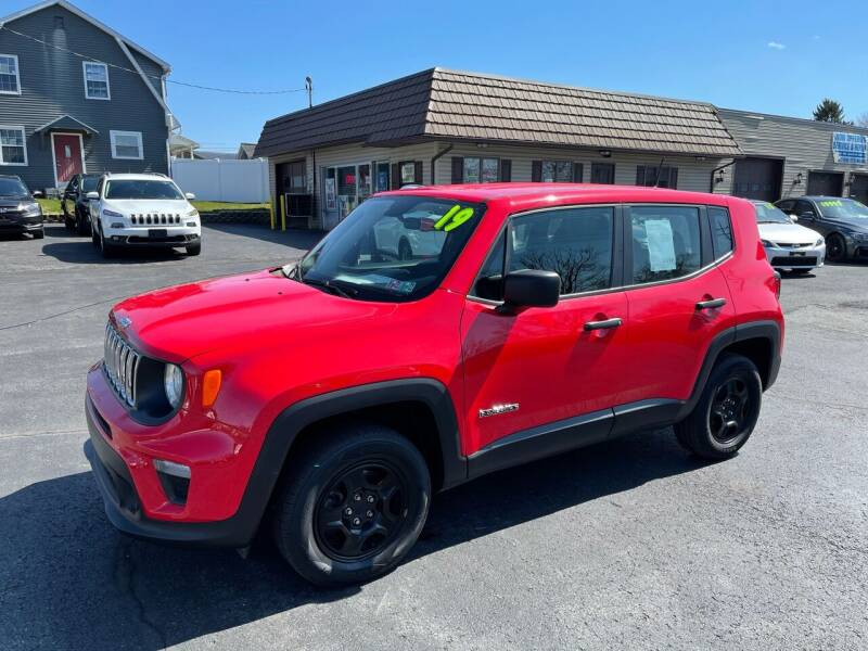 2019 Jeep Renegade for sale at MAGNUM MOTORS in Reedsville PA