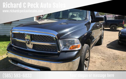 2009 Dodge Ram Pickup 1500 for sale at Richard C Peck Auto Sales in Wellsville NY