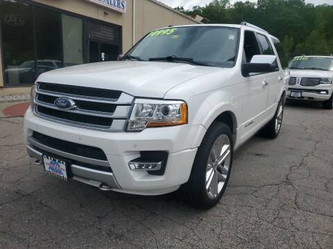 2016 Ford Expedition for sale at Auto Wholesalers Of Hooksett in Hooksett NH