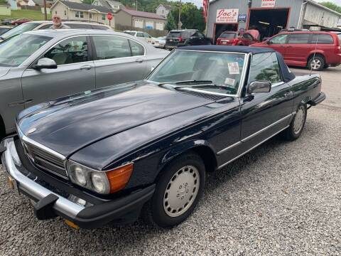 1986 Mercedes-Benz 560-Class for sale at Trocci's Auto Sales in West Pittsburg PA