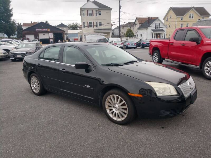 2008 Mercury Milan for sale at A J Auto Sales in Fall River MA