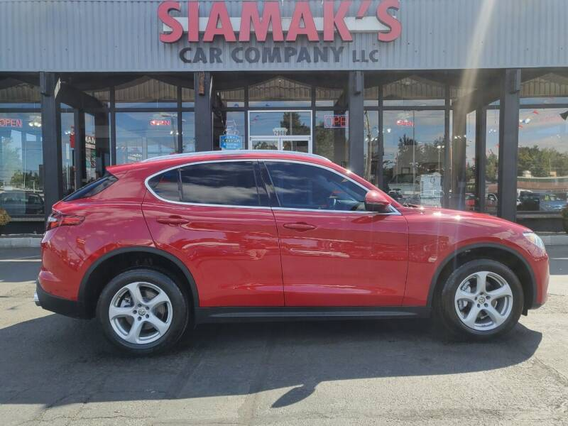 2018 Alfa Romeo Stelvio for sale at Siamak's Car Company llc in Salem OR