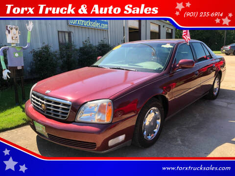 2000 Cadillac DeVille for sale at Torx Truck & Auto Sales in Eads TN