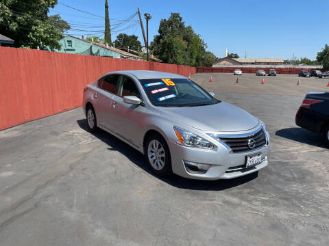 2013 Nissan Altima for sale at Mega Motors Inc. in Stockton CA