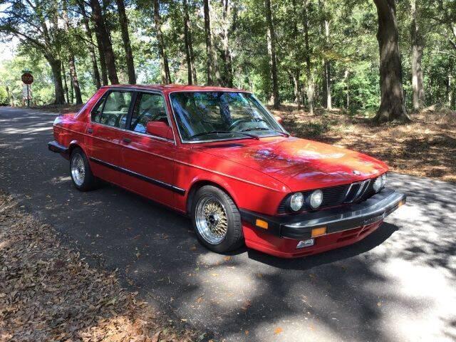 1988 BMW 5 Series for sale at Roadtrip Carolinas in Greenville SC